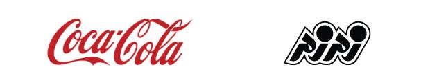 لوگوی شرکت زمزم و لوگوی شرکت کوکاکولا