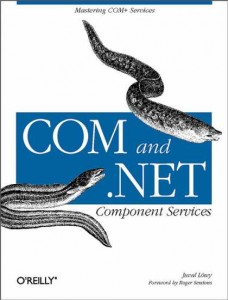 جلد کتاب COM and .NET